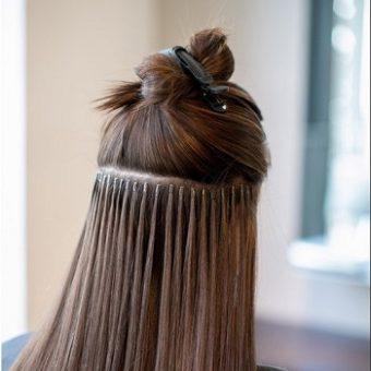 13 Наращивание волос. Салон красоты На Речной, Красногорск