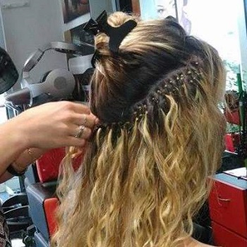 19 Наращивание волос. Салон красоты На Речной, Красногорск