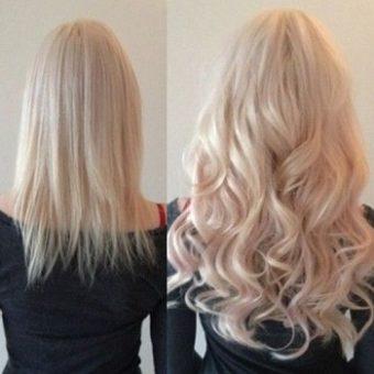 4 Наращивание волос. Салон красоты На Речной, Красногорск