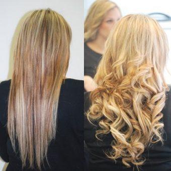 7 Наращивание волос. Салон красоты На Речной, Красногорск