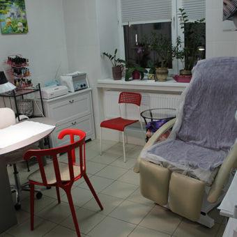 Педикюрный кабинет в Салоне красоты На Речной в Красногорске