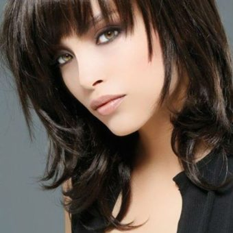 13 Женские стрижки для волос средней длины, салон парикмахерская На Речной, Красногорск