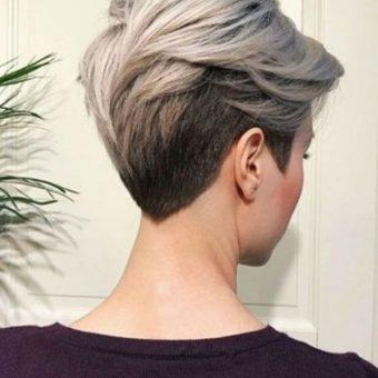 10 роткая женская стрижка , салон-парикмахерская На Речной, Красногорск
