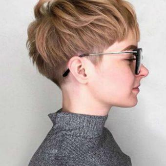 Короткая женская стрижка 9, салон-парикмахерская На Речной, Красногорск