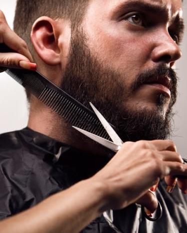 Стрижка усов и бороды в парикмахерской На Речной, Красногорск