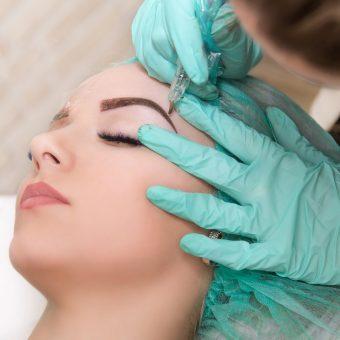 3 Перманентный макияж бровей в Красногорске
