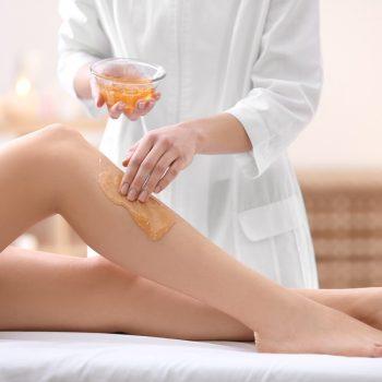 5 Шугаринг или сахарная эпиляция голени. Салон красоты На Речной, Красногорск
