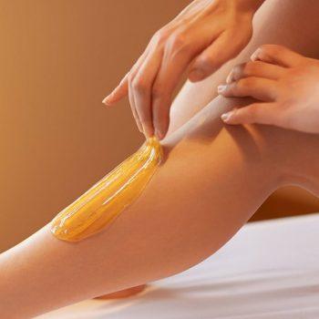 6 Эпиляция голени методом шугаринга