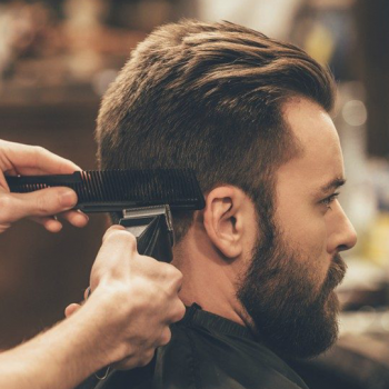 7 Мужские стрижки под насадки, Красногорск, парикмахерская На Речной