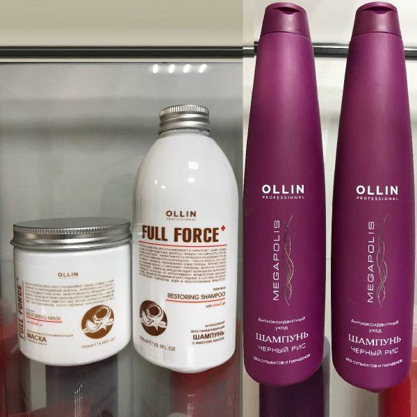 парикмахерская На Речной работает на профессиональной линии OLLIN