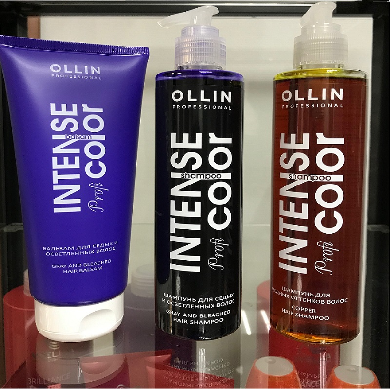 Мы работаем на косметике OLLIN Professional линия для окрашенных волос. Парикмахерская На Речной в Красногорске