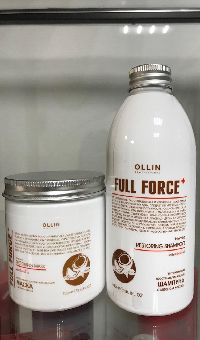 622 Мы работаем на профессиональной косметике OLLIN. Линия с экстрактом кокоса