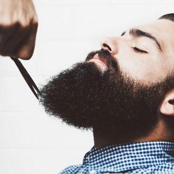 11 Стрижка усов и бороды. Красногорск, парикмахерская На Речной