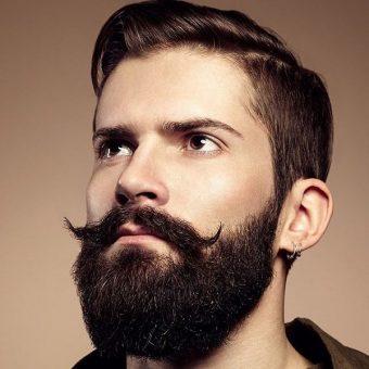 9 Стрижка усов и бороды. Красногорск, парикмахерская На Речной
