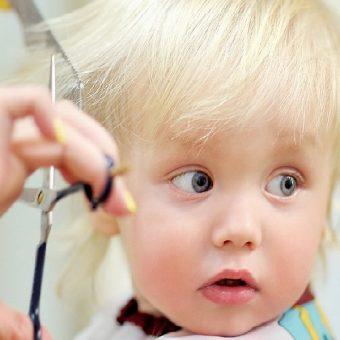 1 Стрижка детей до 3 лет, парикмахерская На Речной, Красногорск