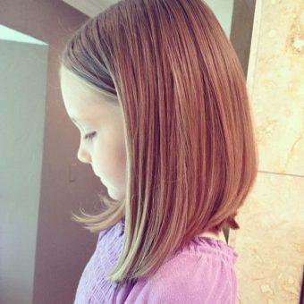 5 Стрижки для девочек на волосы средней длины. Салон На Речной в Красногорске