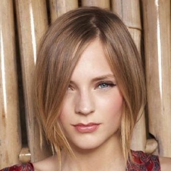 22 Стрижки для девочек на волосы средней длины. Салон На Речной в Красногорске