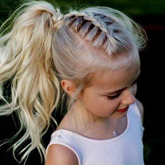 3 Стрижки для девочек на длинные волосы. Салон На речной в Красногорске