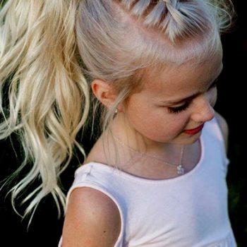 Длинные стрижки и прически для девочек