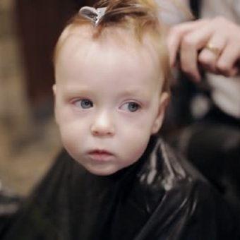 34 Стрижка детей до 3 лет, парикмахерская На Речной, Красногорск