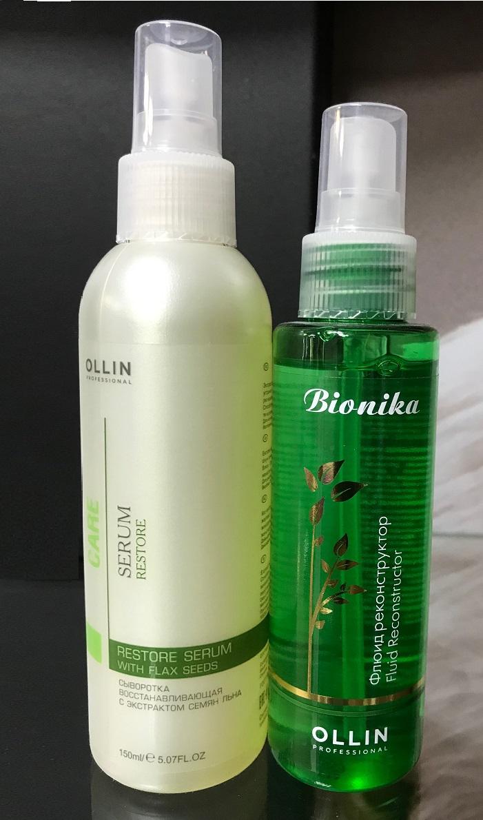 Средства, восстанавливающие волосы OLLIN