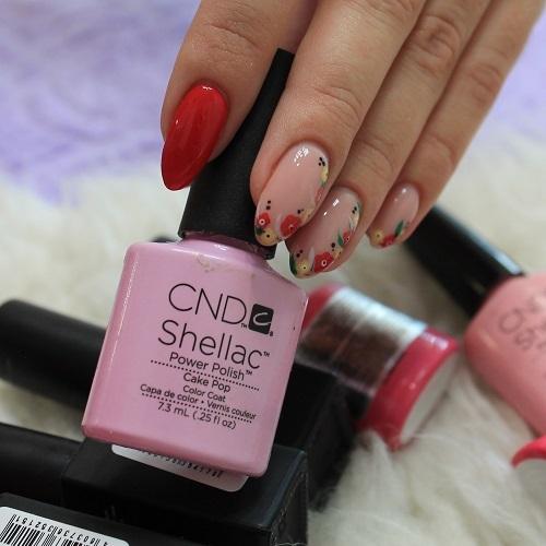 Покрытие Шеллак для ногтей в салоне красоты На Речной в Красногорске