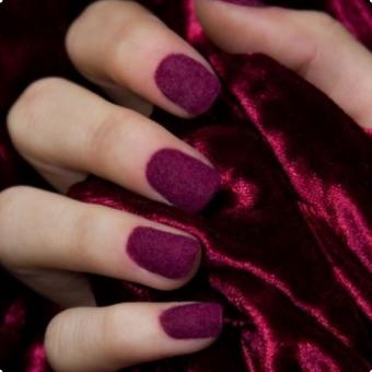 1.1 Дизайн ногтей бархат, салон красоты На Речной в Красногорске
