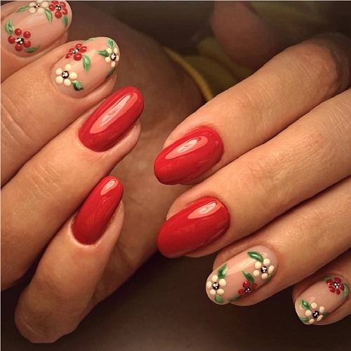 Дизайн ногтей, работа мастера ногтевого сервиса салона красоты На Речной в Красногорске
