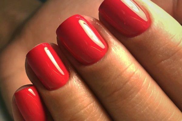 24 Покрытие ногтей биогелем, работа мастера салона красоты На Речной