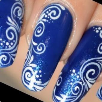 2.1 Дизайн ногтей в стиле Рисунок в салоне красоты На Речной в Красногорске