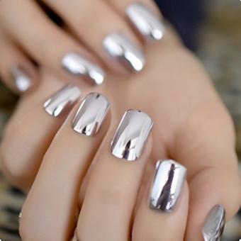 1.1 Дизайн ногтей, зеркальная втирка, салон красоты На Речной в Красногорске