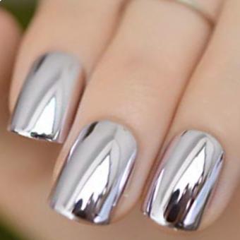 2.1 Дизайн ногтей, зеркальная втирка, салон красоты На Речной в Красногорске