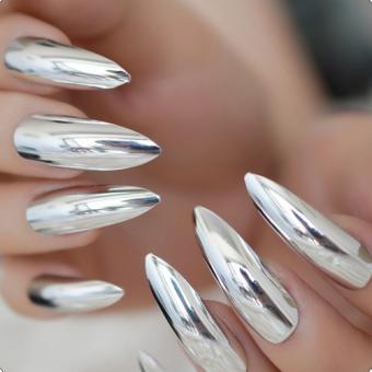 6.1 Дизайн ногтей, зеркальная втирка, салон красоты На Речной в Красногорске