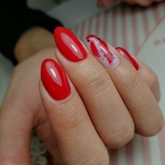 10.1- C Наращивание ногтей на форму, покрытие гелем в салоне красоты На Речной, Красногорск
