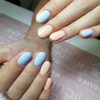 12.4-shellac- C Фото, покрытие ногтей шеллаком, выполнено мастером салона красоты На Речной в Красногорске