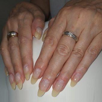 5 - C Наращивание ногтей на форму в салоне красоты На Речной, Красногорск