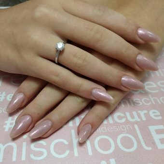 7.1 - C Наращивание ногтей на форму, покрытие гелем в салоне красоты На Речной, Красногорск