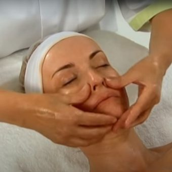 9. Классический массаж лица в салоне красоты На Речной в Красногорске